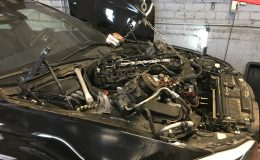 BMW 535d 2011 year 220kw engine fault and replacement